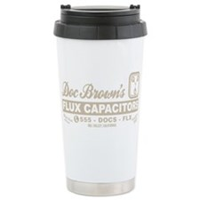 Doc Brown's Flux Capacitors Travel Mug