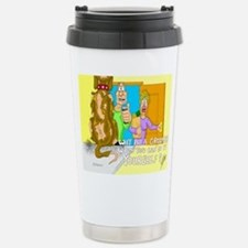 Cute Cat dog Travel Mug