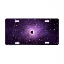 apple'd Aluminum License Plate