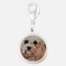 Emme Silver Round Charm