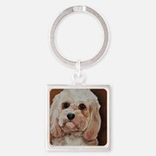 Emme Square Keychain