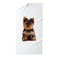 The Yorkshire Terrier (Yorkie) Beach Towel