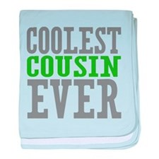 Coolest Cousin baby blanket