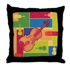 Viola Colorblocks Throw Pillow