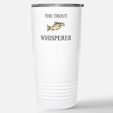 Cute Trout fishing Travel Mug