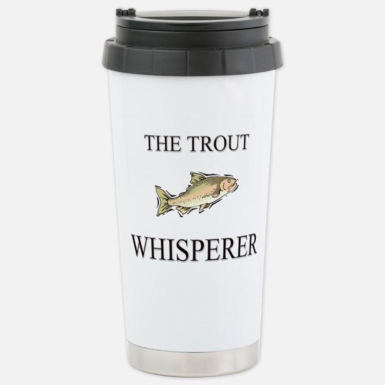 Cute Flyfishing Travel Mug