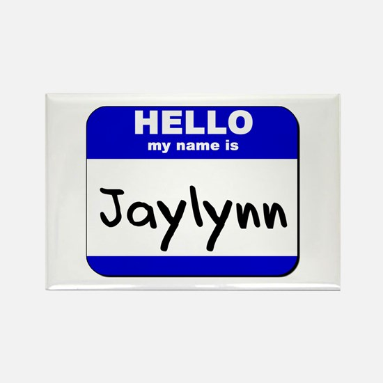 hello my name is jaylynn Rectangle Magnet