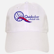 Quicksilver Volleyball Club - Blue and Red Basebal