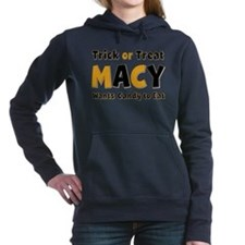 Macy Trick or Treat Hooded Sweatshirt