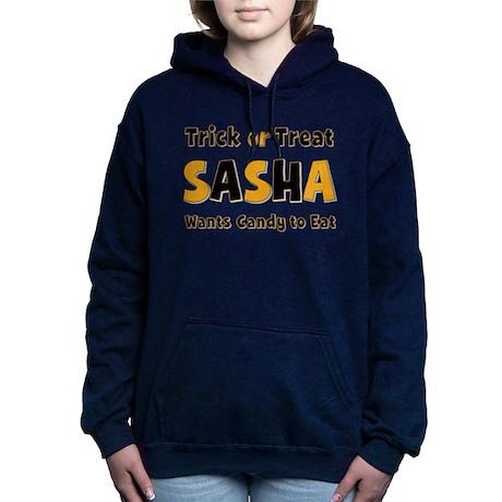 Sasha Trick or Treat Hooded Sweatshirt