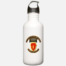 Army - 25th ID w Cbt Vet - Afghan Sports Water Bottle