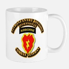 Army - 25th ID w Cbt Vet - Afghan Mug