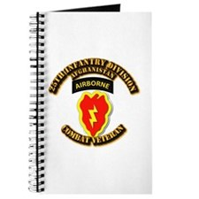 Army - 25th ID w Cbt Vet - Afghan Journal