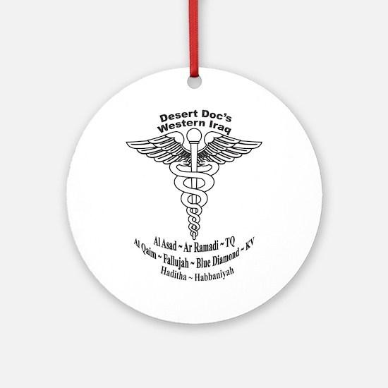 Desert Doc Ornament (Round)