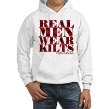 Real Men Wear Kilts Hoodie