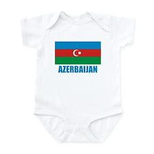 Azerbaijan Flag Infant Bodysuit