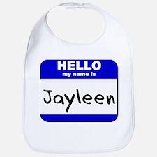 hello my name is jayleen  Bib