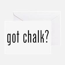 Got Chalk? Greeting Cards