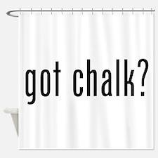 Got Chalk? Shower Curtain