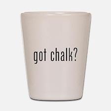 Got Chalk? Shot Glass