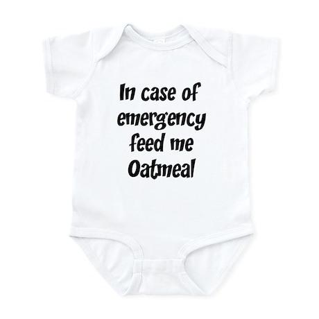 Feed me Oatmeal Infant Bodysuit