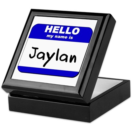 hello my name is jaylan Keepsake Box