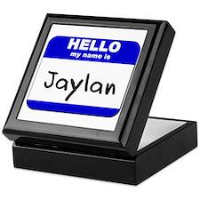 hello my name is jaylan Keepsake Box