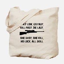 No Luck All Skill Tote Bag