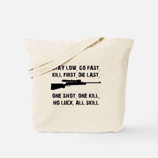 No Luck All Skill Tote Bag