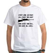No Luck All Skill T-Shirt