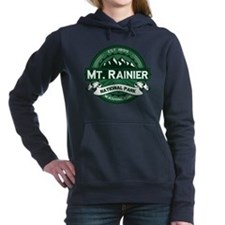 Mt Ranier Forest.png Hooded Sweatshirt