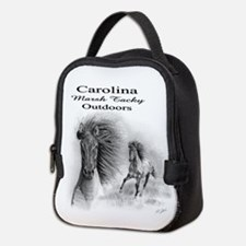 Cute Carolina marsh tacky Neoprene Lunch Bag