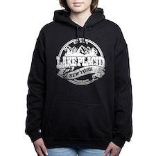 Lake Placid Old Circle White.png Hooded Sweatshirt