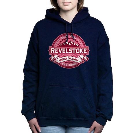 Revelstoke Logo Honeysuckle Dark.png Hooded Sweats