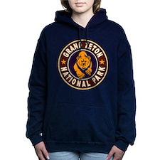 Grand Teton Vintage Circle.png Hooded Sweatshirt