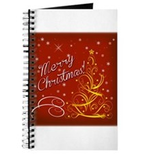Christmas red scene Journal