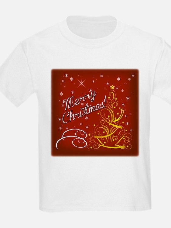 Christmas red scene T-Shirt