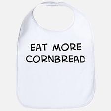 Eat more Cornbread Bib