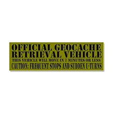 Cute Geocacher Car Magnet 10 x 3