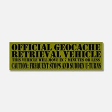 Cute Geocache Car Magnet 10 x 3