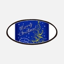 Christmas scene words Patches