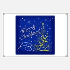 Christmas scene words Banner