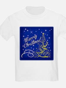 Christmas scene words T-Shirt