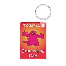 GroundHug Day Keychains