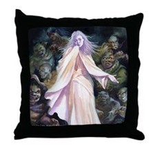 Izanami Throw Pillow