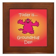 GroundHug Day Framed Tile