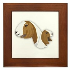 Boer Goat Framed Tile