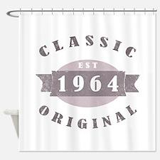 Est. 1964 Classic Shower Curtain