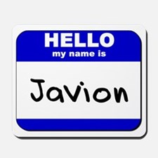 hello my name is javion  Mousepad