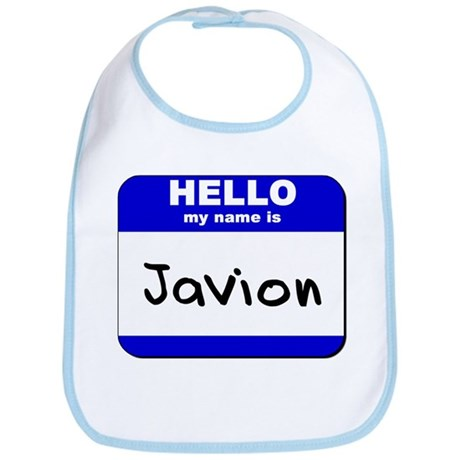 hello my name is javion Bib